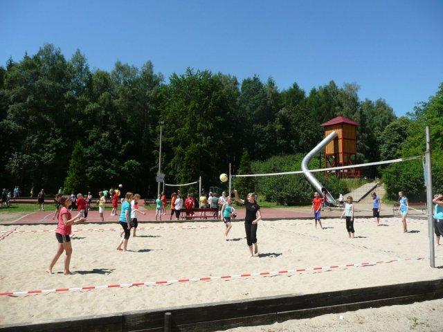 Sportplatze