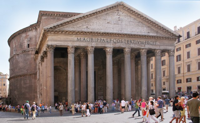 Rome-pantheon-front