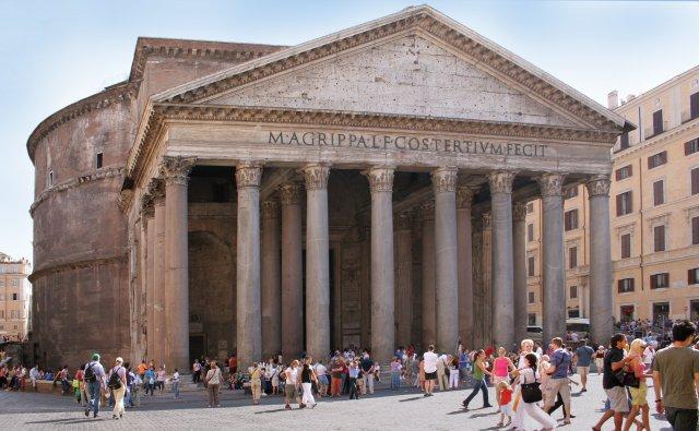 Rome-pantheon-front