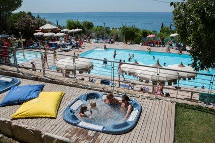 Klassenfahrt Südlicher Gardasee Camping Onda Blue